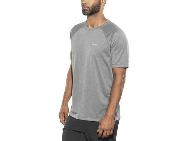 Marmot Accelerate t-shirt Heren, grey storm heather